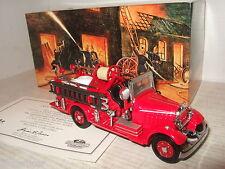 Nuevo Poco Común Matchbox YFE15 1935 Mack AB Coche De Bomberos Modelo Fundido