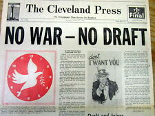 BEST 1973 headline newspaper announcing THE END of US involvement in VIETNAM WAR