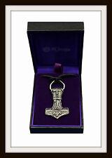 Norse Vikingo Thor's Hammer ~ ~ ~ colgante de estaño Mjolnir de St Justin ~ Libre P&P