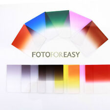 33in1 Complete ND2 ND4 ND8 Gradual Color Filter Kit+Ring Adapter Set for Cokin P