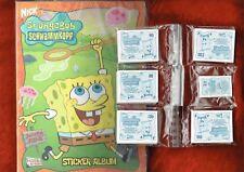 Spongebob Schwammkopf (2007)  Stickeralbum + kompletter Satz  , Merlin
