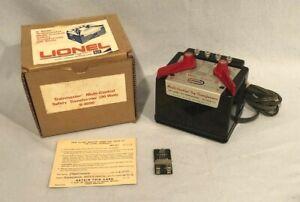 """Lionel MPC No. 6-4090 Type 1044 """"Multi Control"""" 90-Watt Transformer, Boxed"""