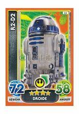 Force Attax Le Voyage à Star Wars Les derniers 177-r2-d2