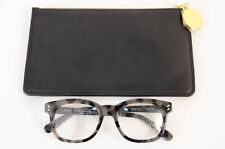 Stella McCartney SC0005O black tortoise square frame optical sunglasses NEW $330