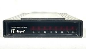 HAYES MICROCOMPUTER PRODUCTS INC. SMARTMODEM 1200 WITHOUT POWER ADAPTER
