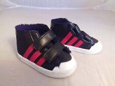 NEO ADIDAS Boys infant size 5 black hi tops, hardly worn
