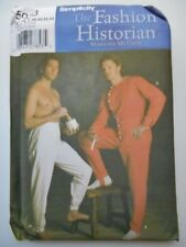 UNCUT Sewing Simplicity Pattern #5033 Mens 38-44 Civil War Reenactment Costumes