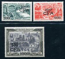 REUNION 1951 Yvert PA 49-51 ** POSTFRISCH TADELLOS 622€(S5488