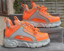 Buffalo Platform Shoes J1MO71 Special Edition Lisa&Lena Influencer Orange&Silver