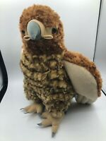 Wild Republic Hawk Eagle Brown Bird Plush Kids Soft Stuffed Toy Animal Doll