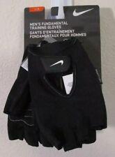 NWT Nike Mens Fundamental Training Fitness Gloves L Black/White MSRP $15.00
