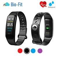 BIO-FIT Activity Fitness Tracker Smart Watch HEART RATE STEP & SLEEP TRACKER GYM