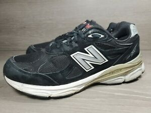 New Balance W990BK4 Black Made In USA  Running Sneakers Women's Sz 8 B (a10