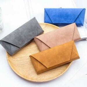 Pu Leather Soft Glasses Sunglasses Case Box Pouch Bag Eyewear Protector Holder