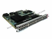 Cisco WS-X6748-GE-TX 10/100/1000 Gigabit Module w/ WS-F6700-CFC -1 Year Warranty