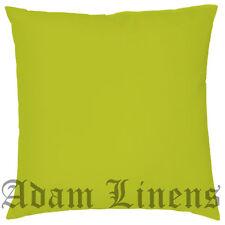 "Plain Dye Colorful 100% Cotton Cushion Covers Sofa Pillow Case 20""x20""(50x50 cm)"
