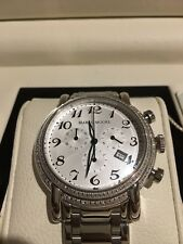 Marco Moore Diamond Bezel Mens Watch $1995 LIMITED EDITION 12/499 MM539-001GD