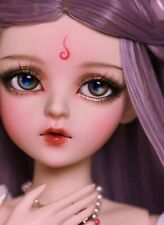 Full Set 60cm Bjd Doll Fashion Girl With make-up + shoe + wig + clothes + eyes