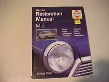 MINI COOPER  RESTORATION ALL MODELS   by LINDSAY PORTER