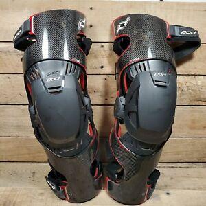 POD K700 MX Knee Brace (Pair) Small Good Used Shape