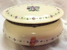 Disney Winnie The Pooh Vintage Musical Theme Song Trinket Box Picking Bouquet