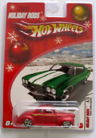 Ford Coupe 1940 Roadster Real Riders Mag Hubs Hot Wheels 2005 Holiday Rods