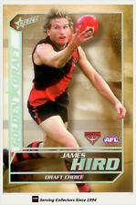 2005 Select AFL Dynasty Grand Redemption Golden Draft DC5 James Hird (Essendon)