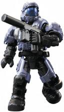 MEGA CONSTRUX Halo CNC84 Blue *UNSC ODST* Stormbound Series *RARE*