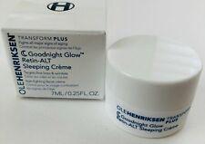 Ole Henriksen Retin-ALT Goodnight Glow Sleeping Creme 7ml Travel Sz NEW NIB