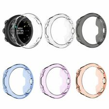 For Garmin forerunner 45 / 45S Watch Frame Bumper Clear TPU Cover Case Protector