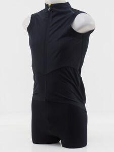 New! Assos Men's Tiburu Gilet Equipe Cycling Vest Medium (Black Series)