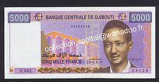 Djibouti 5000 Francs UNC / Neuf Série F.002