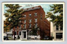 Saginaw MI, YMCA Buildings, Vintage Michigan c1917 Postcard