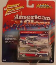 1962 CHEVY BEL AIR (RED - WHITE & BLUE) Johnny Lightning