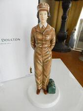 Royal Doulton ARMY DAYS Queen Elizabeth II 90th Figurine HN5806 Ltd Ed - NEW/BOX