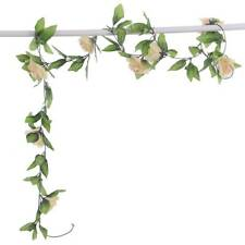 8Ft Artificial Rose Garland Silk Flower Vine Ivy Wedding Garden Decoration Lot