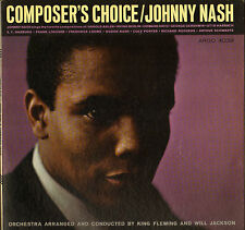 "RARE JOHNNY NASH ""COMPOSER'S CHOICE"" SOUL JAZZ LP 1964 ARGO PROMO !"