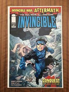 Invincible #61 Image Comics Kirkman Invincible War 1st app Conquest Key VF/NM