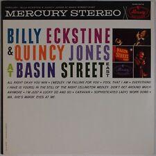 BILLY ECKSTINE & QUINCY JONES: At Basin Street East USA Mercury Jazz LP NM