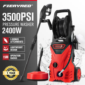 Fieryred High Pressure Washer Cleaner 3500PSI Electric Water Gurney Pump 10M