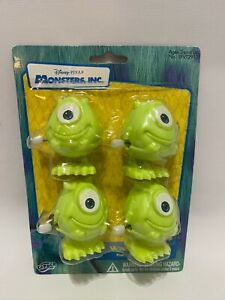 2001 Disney Monsters Inc. Mike Wind Up Toy Figure Party Favors Tapper New