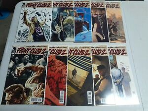 FIGHT CLUB 2 #1-10 COMPLETE FULL SERIES SET DARK HORSE VARIANTS VF TO NM