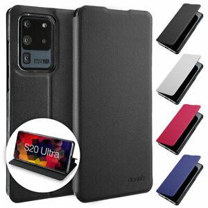 Flip Case Samsung S20 Ultra Magnet Cover Aufstellbar Ständer Schutz Hülle Schale