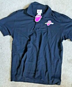 Rolling Stones XL Polo shirt with tags NEW from EXHIBITIONISM