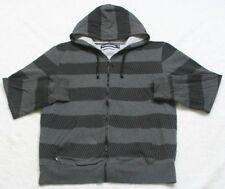 XL Hoodiebuddie Sweatshirt Top Gray Black Cotton Polyester Men's Man Long Sleeve