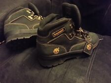 Timberland boots Euro Hiker Black/Brown gold brass NWT NOS 2005 discontinued men