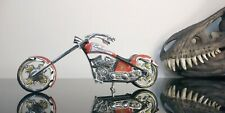 "Budweiser 7 1/4"" Chopper Motorcycle. Rare"