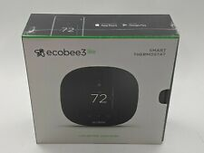 New Ecobee3 Lite Smart Thermostat - Black Eb-State3Lt-02 -J8238