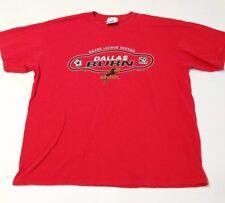 MLS Dallas Burn Soccer Red 2002 T-Shirt XL