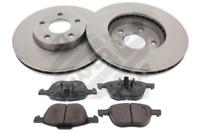 Bremsensatz, Scheibenbremse für Bremsanlage Vorderachse MAPCO 47644